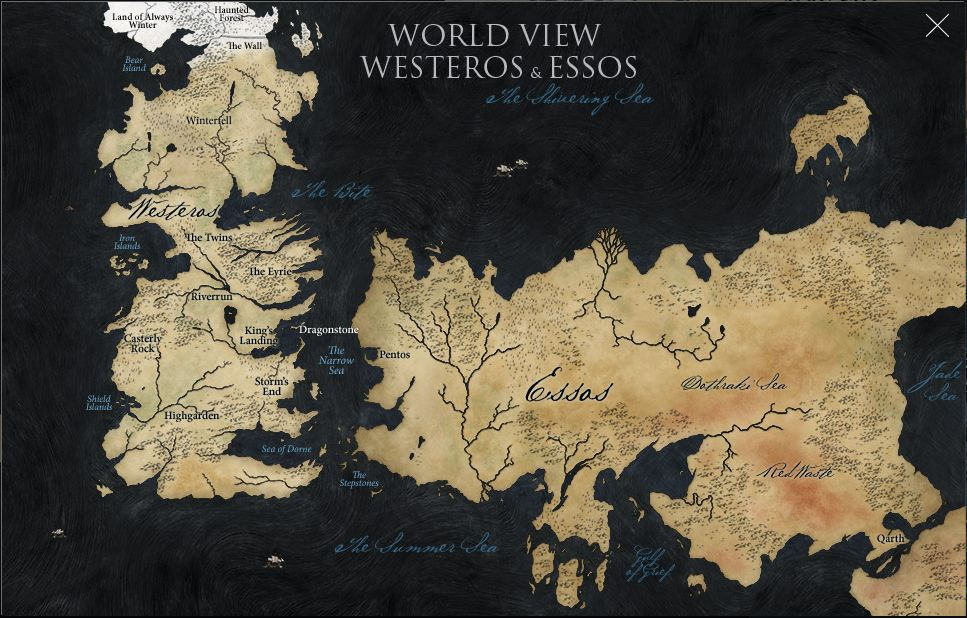 Maps are cool map of thronesmaps are cool game of thrones art cartography map gumiabroncs Choice Image