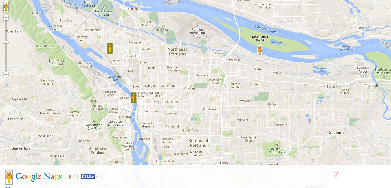 Maps are cool! » Google Maps April Fools\' 2014Maps are cool!